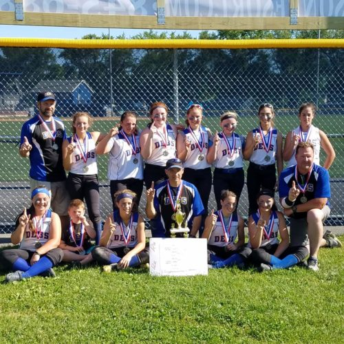 12u Debs continue their success, Champs again 6-0, at the Rebels Rumble