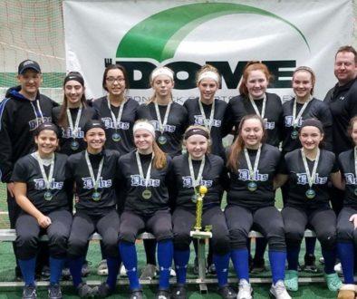 14U Debs win the Adirondack Dome Winter Blast, 6 & 0 on the weekend