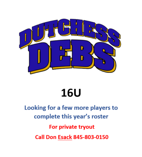 Looking for 16U players