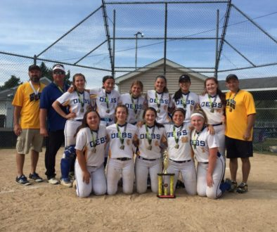 Debs 14U 05 wins The Black Diamond Bash, our first fall event going 5 – 0
