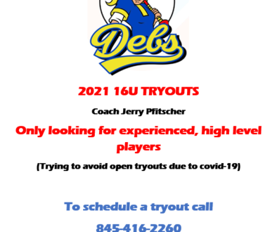 16U Pfitscher Tryouts